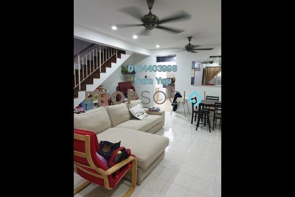 Terrace For Sale in Taman Setia 2, Balakong Freehold Semi Furnished 4R/3B 500k