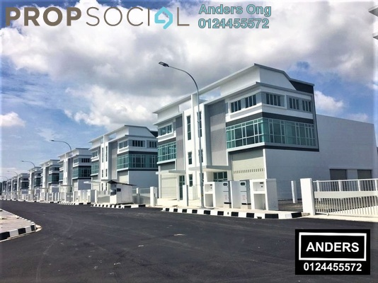 Factory For Sale in Golden Gateway, Penang Freehold unfurnished 0R/0B 3.16m