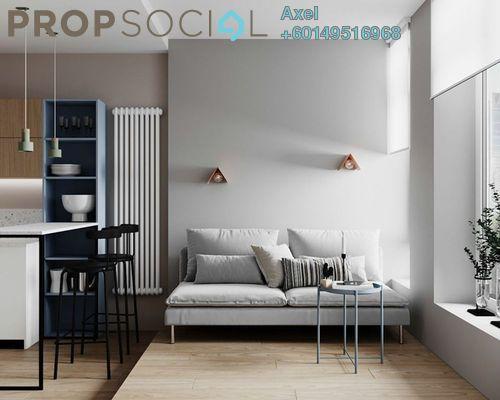 Condominium For Sale in Brezza One Residency, Ampang Jaya Freehold Semi Furnished 3R/3B 579k
