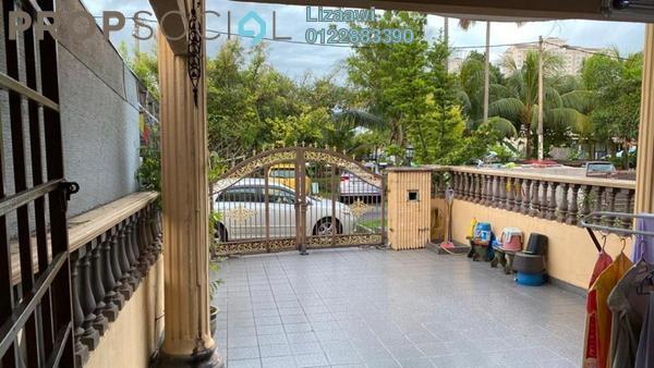 Terrace For Sale in Samudra Teres, Batu Caves Leasehold Semi Furnished 4R/3B 750k