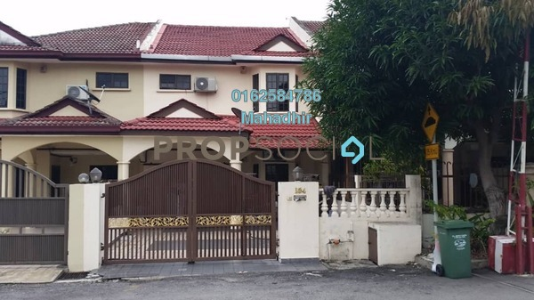 Terrace For Rent in Taman Taynton View, Cheras Freehold Semi Furnished 4R/3B 2k