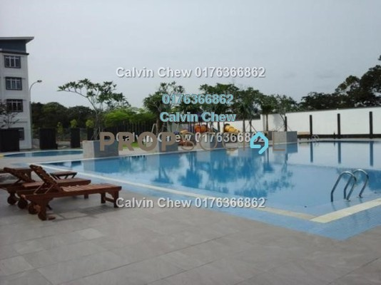Apartment For Sale in The Pines Residence, Johor Leasehold Unfurnished 3R/2B 189k
