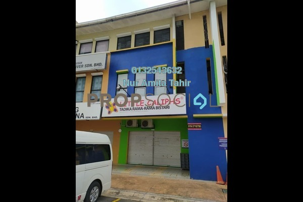 Office For Rent in Section 13, Shah Alam Freehold Fully Furnished 0R/0B 2.5k