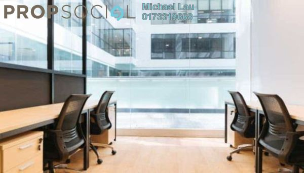 Office For Rent in UOA Business Park, Saujana Freehold Fully Furnished 0R/0B 1.8k