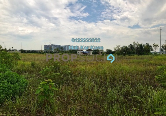 Land For Sale in D'Island, Puchong Freehold Unfurnished 0R/0B 1.44m