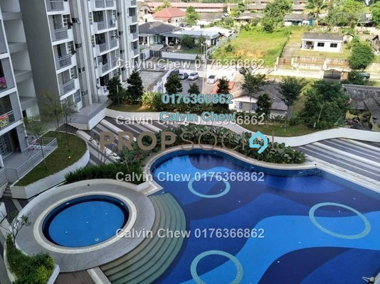 Apartment For Sale in Scott Towers, Johor Bahru Leasehold Unfurnished 3R/0B 203k