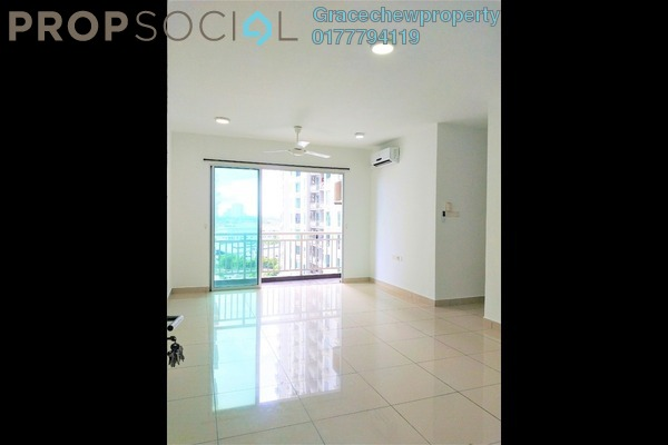 Condominium For Rent in The Aliff Residences, Johor Bahru Freehold Semi Furnished 3R/2B 1.2k