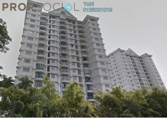 Condominium For Rent in Prima Ipoh Condominium, Ipoh Freehold Semi Furnished 2R/2B 1.2k