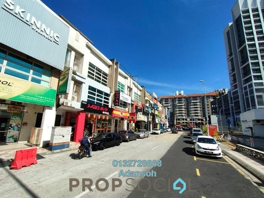 Shop For Rent in Taman Usahawan, Kepong Freehold Unfurnished 0R/0B 7.8k