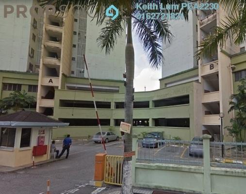 Apartment For Sale in Desa Sri Puteri Apartments, Desa Petaling Freehold Semi Furnished 3R/2B 250k