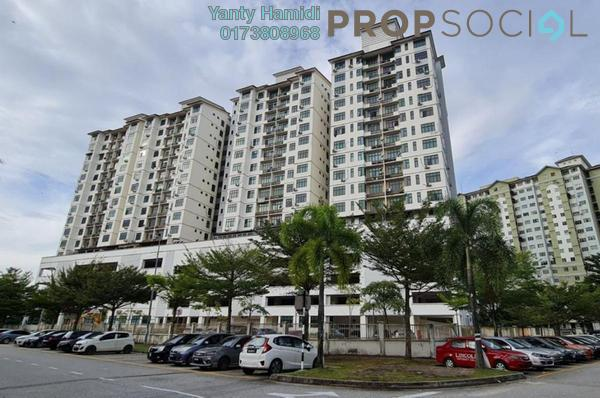 Condominium For Sale in Kasturi Idaman Condominium, Kota Damansara Freehold Unfurnished 3R/2B 400k