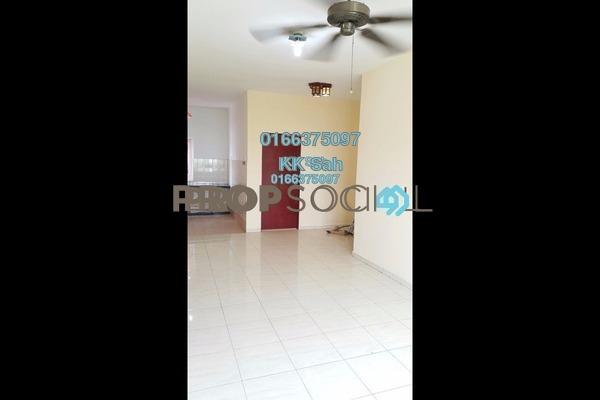 Apartment For Sale in Segar Perdana Apartment, Cheras Freehold Semi Furnished 3R/2B 208k