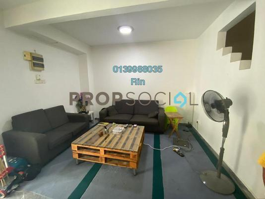 Terrace For Sale in BU1, Bandar Utama Freehold Semi Furnished 4R/3B 1.2m