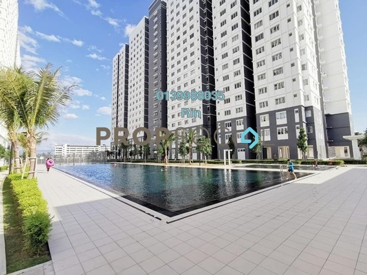 Apartment For Sale in Harmoni Apartment Eco Majestic, Beranang Freehold Semi Furnished 3R/2B 265k