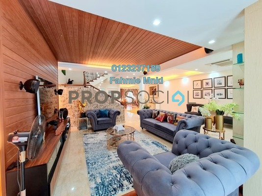 Terrace For Sale in Taman TAR, Ampang Freehold semi_furnished 4R/5B 1.8m