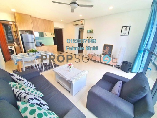 Condominium For Sale in The Fennel, Sentul Freehold Fully Furnished 3R/3B 770k