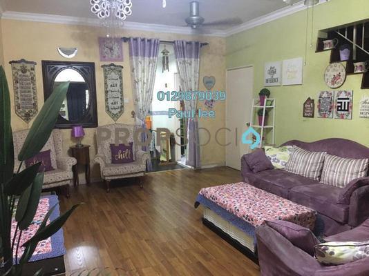 Terrace For Sale in PU10, Bandar Puchong Utama Freehold Semi Furnished 4R/3B 495k
