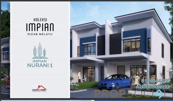 Terrace For Sale in Taman Desa Kemuning, Kota Kemuning Freehold Semi Furnished 4R/4B 610k