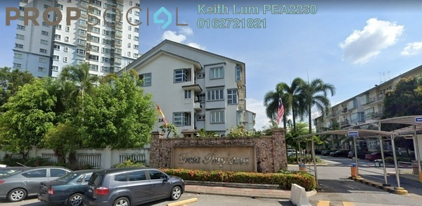Condominium For Sale in Desa Impiana, Puchong Freehold Semi Furnished 3R/2B 350k