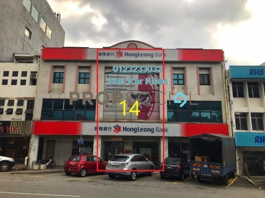 Shop For Sale in Taman Midah, Cheras Leasehold Fully Furnished 0R/0B 2.5m