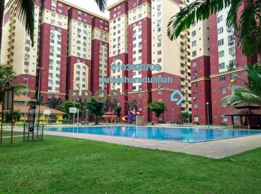 Apartment For Sale in Mentari Court 1, Bandar Sunway Freehold Fully Furnished 3R/2B 285k