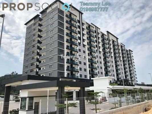 Apartment For Rent in Mahkota Walk, Bandar Mahkota Cheras Freehold Unfurnished 3R/2B 1.1k