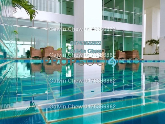 Condominium For Sale in Pinnacle Tower, Johor Bahru Freehold unfurnished 3R/2B 495k