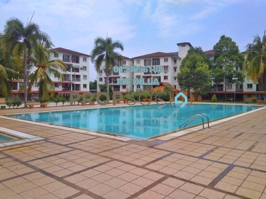 Apartment For Sale in Taman Bunga Raya, Bukit Beruntung Freehold Unfurnished 3R/2B 150k