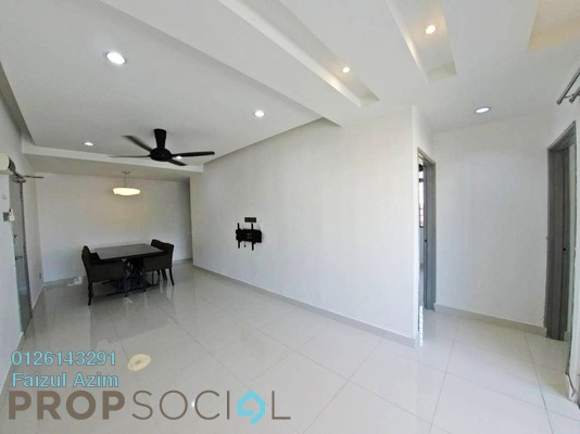 Apartment For Sale in Sri Melor Apartment, Ukay Freehold Semi Furnished 3R/2B 260k