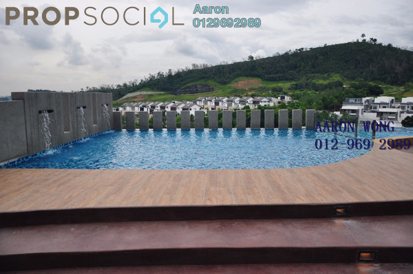 Condominium For Rent in Sutera Pines, Bandar Sungai Long Freehold Semi Furnished 3R/2B 1.7k