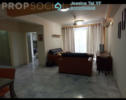Condominium For Rent in Jasmine Towers, Petaling Jaya Freehold Fully Furnished 3R/2B 2k