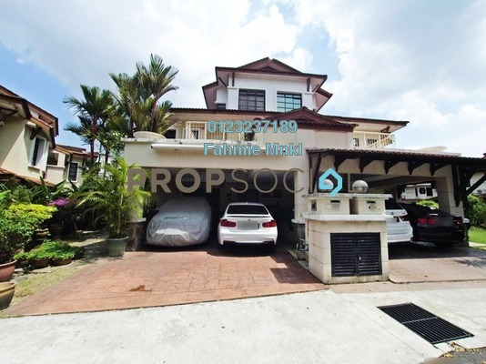 Semi-Detached For Sale in Precinct 9, Putrajaya Freehold semi_furnished 6R/6B 1.4m