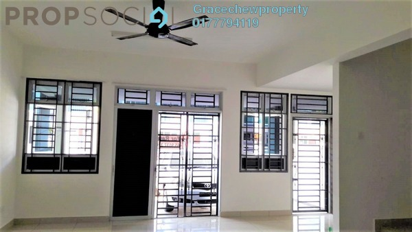 Terrace For Rent in Nusa Sentral, Iskandar Puteri (Nusajaya) Freehold Semi Furnished 4R/3B 1.3k