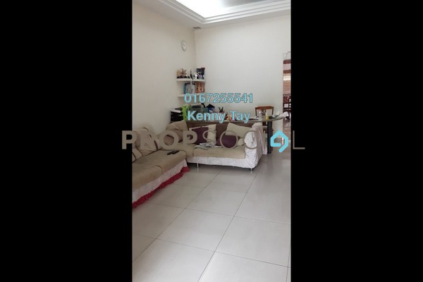 Terrace For Sale in Kepong Baru, Kepong Leasehold Semi Furnished 3R/2B 665k