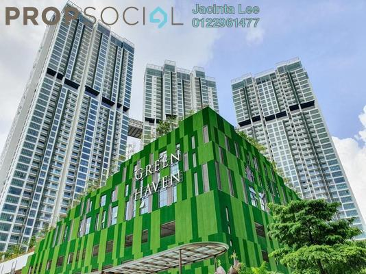 Serviced Residence For Sale in Green Haven, Johor Bahru Freehold Semi Furnished 3R/2B 394k