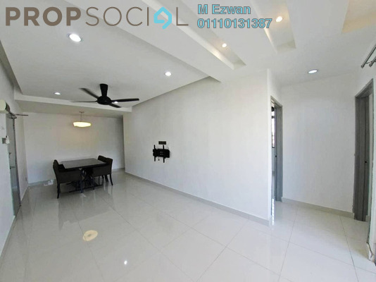 Apartment For Sale in Sri Melor Apartment, Ukay Freehold Unfurnished 3R/2B 260k