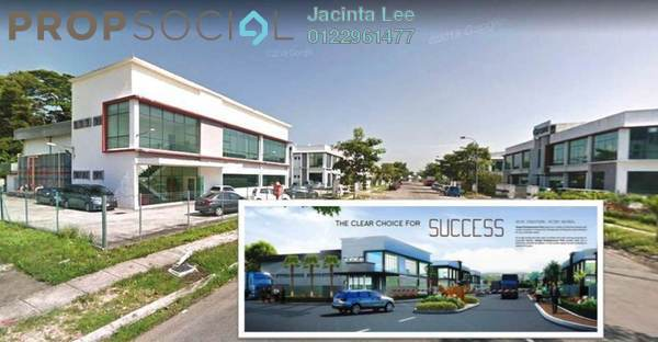 Factory For Sale in Taman Tampoi Indah, Johor Bahru Freehold Semi Furnished 0R/6B 4.05m