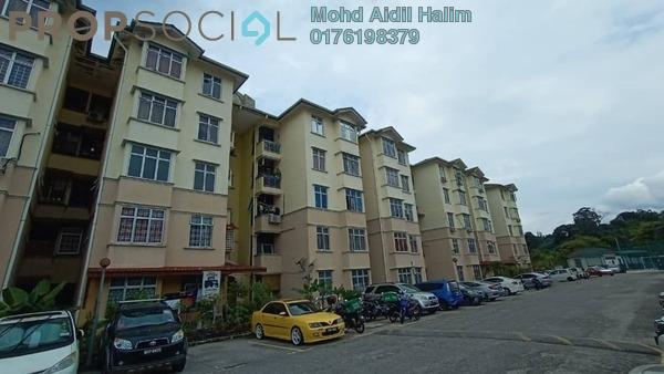 Apartment For Sale in Sri Kayangan Apartment, Ukay Freehold Semi Furnished 3R/2B 200k