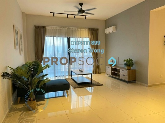 Condominium For Rent in Grace Residence, Jelutong Freehold Fully Furnished 3R/2B 2.2k