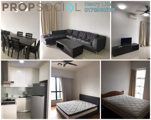 Serviced Residence For Rent in G Residence, Desa Pandan Freehold Fully Furnished 2R/2B 3.3k