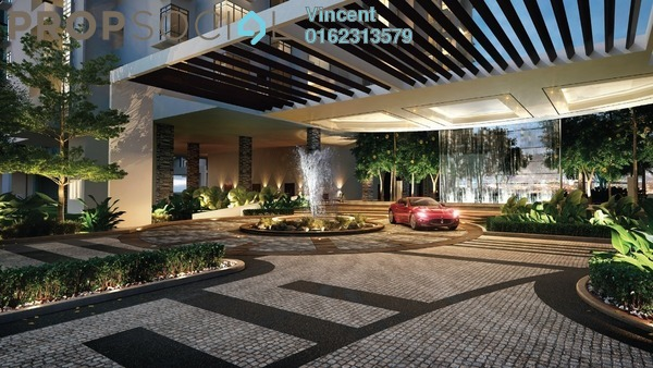 Condominium For Sale in Brezza One Residency, Ampang Jaya Freehold Semi Furnished 3R/3B 549k
