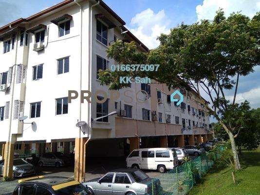 Apartment For Rent in Section 1, Bandar Mahkota Cheras Freehold Semi Furnished 3R/2B 900translationmissing:en.pricing.unit