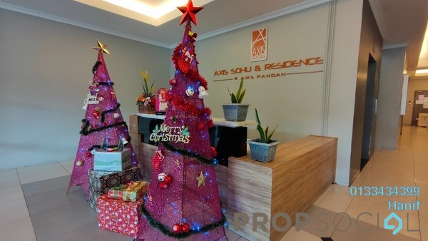 Condominium For Sale in Axis Crown, Pandan Indah Freehold Fully Furnished 2R/2B 350k
