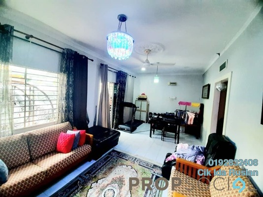 Terrace For Sale in Section 10, Shah Alam Freehold Fully Furnished 3R/2B 540k
