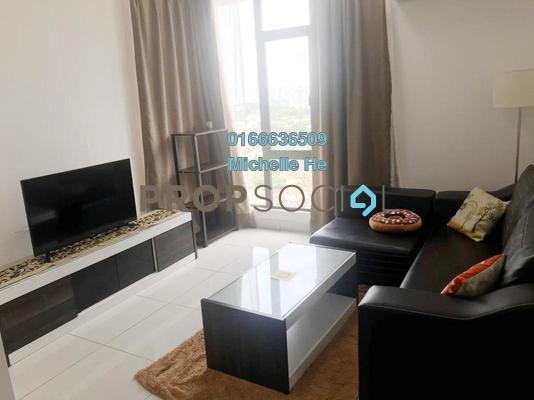 Serviced Residence For Rent in 1Tebrau, Johor Bahru Freehold Fully Furnished 1R/1B 1k
