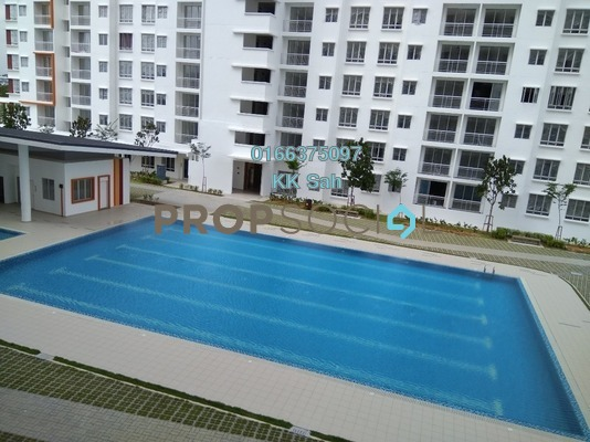 Condominium For Rent in Setia EcoHill, Semenyih Freehold Semi Furnished 3R/2B 800translationmissing:en.pricing.unit