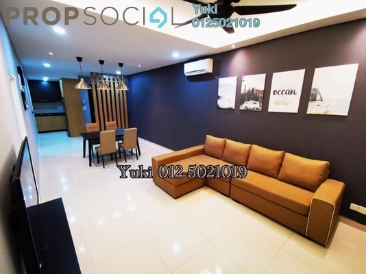 Condominium For Rent in D'Festivo Residences, Ipoh Freehold Fully Furnished 3R/2B 2.6k