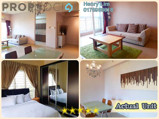 Serviced Residence For Sale in Windsor Tower, Sri Hartamas Freehold Fully Furnished 3R/2B 815k
