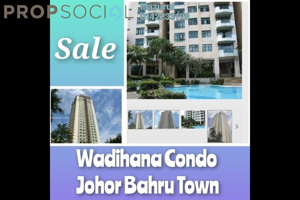 Condominium For Sale in The Wadihana, Johor Bahru Freehold fully_furnished 4R/3B 450k