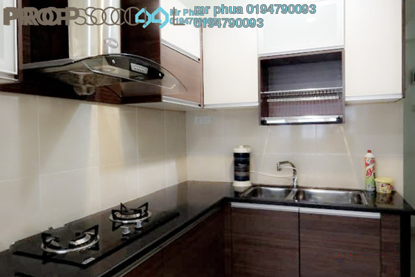 Condominium For Rent in Sea View Tower, Butterworth Freehold Fully Furnished 1R/1B 1.05k